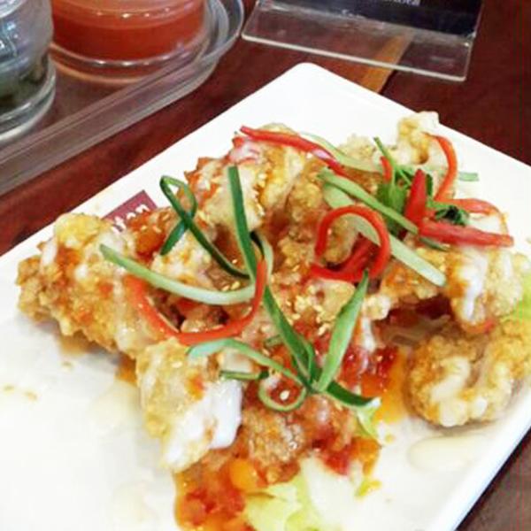 Ayam Mayo ala Thai, Eaton